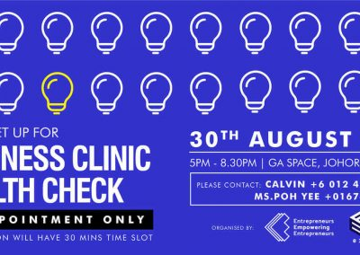 Business Clinic JB August 30
